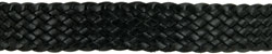 #853 Ten Plait Hat Band, Black